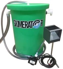 Skimerator Floating Oil System