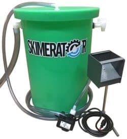 Skimerator Floating Oil System