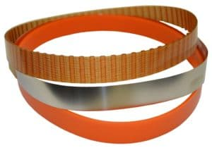 Stainless-steel and cogged replacement belts for mini skimmers – Wayne Products
